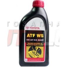 """Масло трансмиссионное TOYOTA AUTO FLUID WS (0,946 л) cеквентальная АКПП"""""""""""