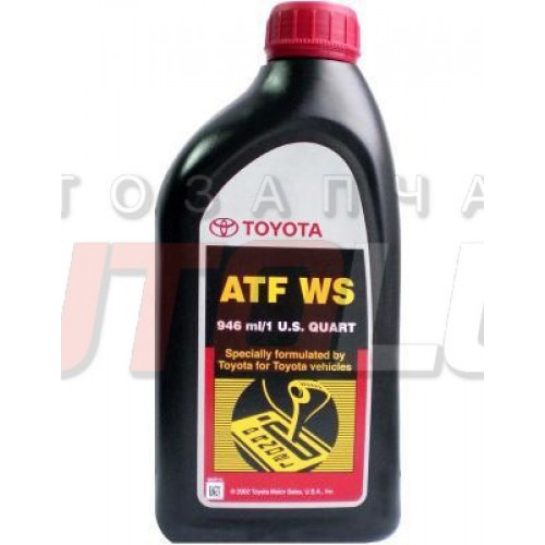 00289ATFWS TOYOTA Масло гидравл. ATF WS (для cеквентальной АКПП) (946 мл)