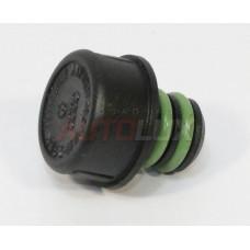 01M321432A Крышка маслозаливной горловины АКПП 4-ст VAG (пластик)