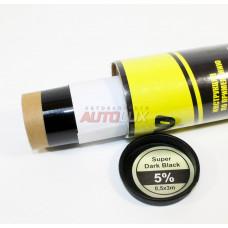 Пленка тонировочная Limo Solar Film 5% (Super Dark Black) (0,5x3 м)