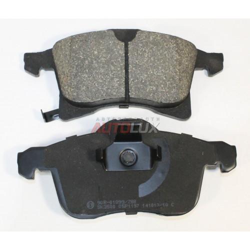 05P1197 Колодки дисковые OPEL Astra H 04-/Combo 01-/Corsa C 03-/D 07-/Meriva 03-10/Meriva B 10- передние