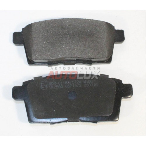 05P1572 Колодки дисковые MAZDA CX-7(ER)/ CX-9(TB) 2.2 MZR-CD/AWD/MPV III 2.3 MZR DISI Turbo 07- задние