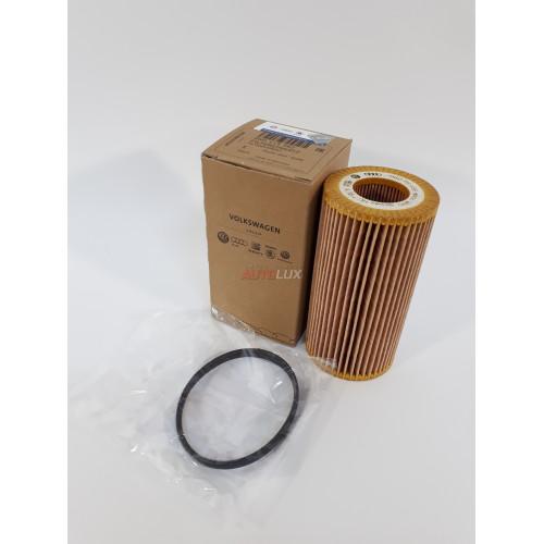06D115562 Фильтр масляный (картридж) AUDI A3/4/6/TT 2.0FSi/TFSi 03-, VW Golf V/Passat/Touran 2.0/FSi 03-, SKODA Octavia