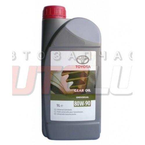 08885-80616 TOYOTA Масло трансм. 80W90 GL-4/GL-5 минерал. (1 л) (Европа)