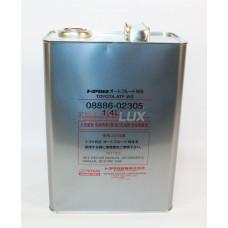 08886-02305 TOYOTA Масло гидравл. ATF WS (для cеквентальной АКПП) (4 л) Ж/Б (Япония)