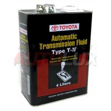 08886-81015 TOYOTA жидкость трансмиссионная  ATF Type-Т-IV 4л.