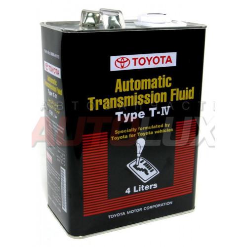 08886-81015 TOYOTA Масло гидравл. ATF TYPE Т-IV (4 л)