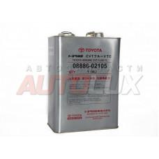 0888602105 TOYOTA Масло гидравл. CVT Fluid TC (красное) (для АКПП-вариатора) (4 л) Ж/Б