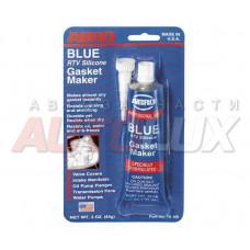 ABRO Герметик силиконовый (синий) (85 гр)