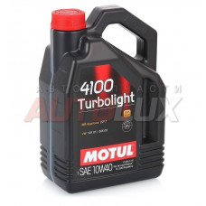 100355 Мотор/масло MOTUL 4100 Turbolight 10w-40 (4 л) СНЯТО