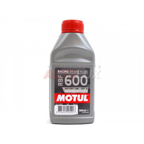 100948 MOTUL Жидкость тормозная RBF 600 Factory Line (500 мл)