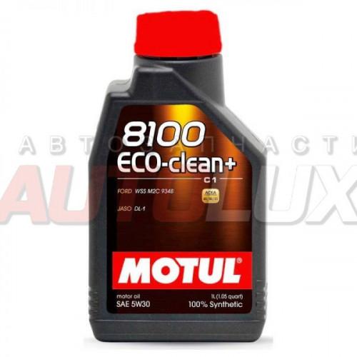 101580 MOTUL Масло мот. 8100 Eco-Clean+ C1 5W30 синт. (1 л)