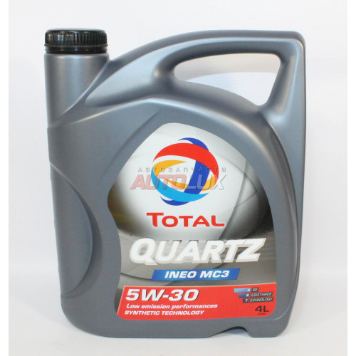 10250501 TOTAL Масло мот. Quartz INEO MC3 CF C3 5W30 синт. (4 л)