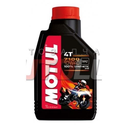 104097 MOTUL Масло мот. 4T 7100 10W50 (1 л) для МОТО