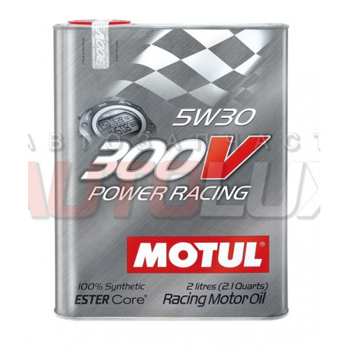 104241 MOTUL Масло мот. 300V Power Racing 5W30 синт. (2 л)