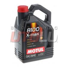 104533 MOTUL Масло мот. 8100 X-Max SN/CF A3/B4 0W40 (5 л)