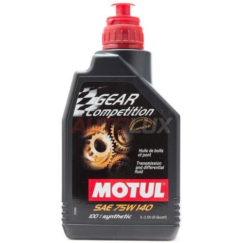 105779 MOTUL Масло трансм. Gear FF Competition 75W140 GL-5 синт. (1 л)