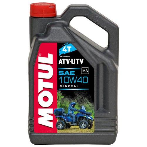 105879 MOTUL Масло мот. 4T ATV-UTV 10W40 минерал. (4 л) для квадроциклов и МОТОвездеходов