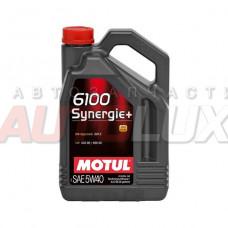 106020 Мотор/масло MOTUL 6100 Synergie+ SAE 5w40 ( 4 л)