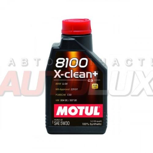 106376 MOTUL Масло мот. 8100 X-Clean+ C3 5W30 синт. (1 л)