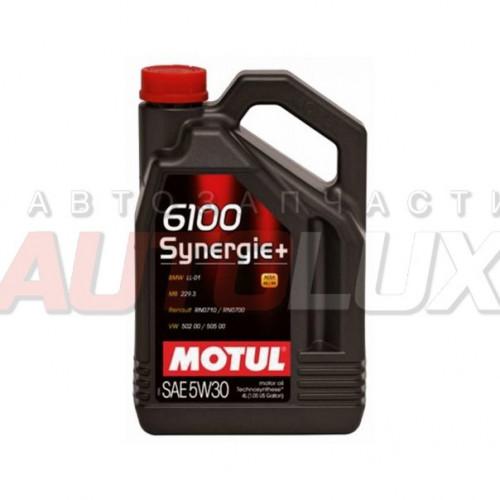 106572 MOTUL Масло мот. 6100 Synergie+ SL A3/B4 5W30 (4 л)