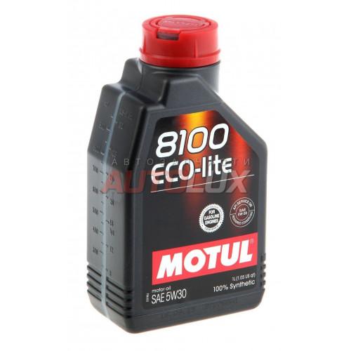 108212 MOTUL Масло мот. 8100 Eco-Lite SN 5W30 GF-5 синт. (1 л)