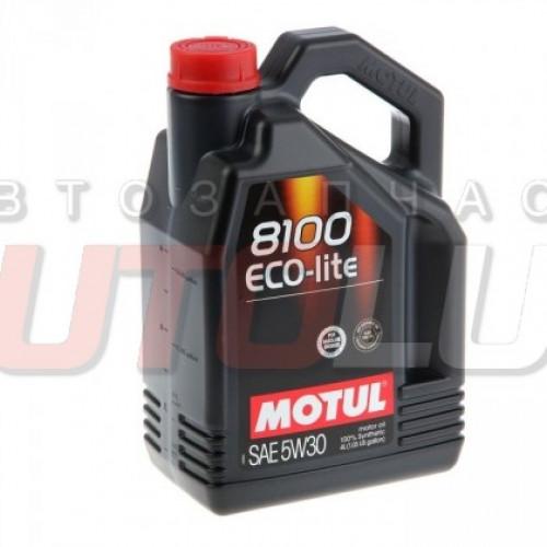 108213 MOTUL Масло мот. 8100 Eco-Lite SN 5W30 GF-5 синт. (4 л)