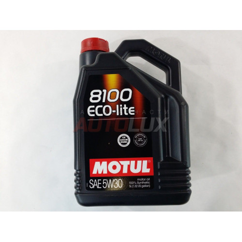 108214 MOTUL Масло мот. 8100 Eco-Lite SN 5W30 GF-5 синт. (5 л)