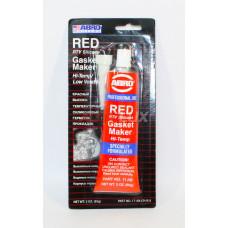 ABRO Герметик силиконовый (красный) (85 гр) (Китай)