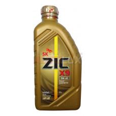 132613 ZIC Масло мот. X9 SN/CF A3/B4 5W40 синт. (1 л)