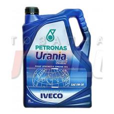 13455019 PETRONAS Масло мот. URANIA Daily CF E7 5W30 (5 л) Для Iveco Daily Euro 3/4!!!!