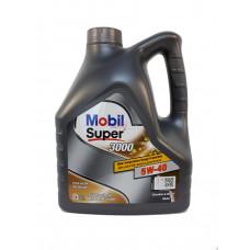 152566 MOBIL Масло мот. Super 3000 X1 A3/B4 5W40 синт. (4 л)