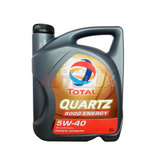 156812 TOTAL Масло мот. Quartz 9000 ENERGY SN/CF A3/B4 5W40 синт. (5 л)