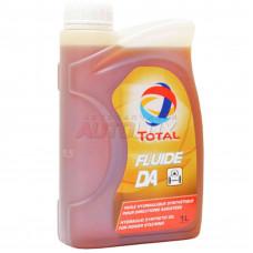 166224 TOTAL Масло гидравл. FLUIDE LDS (в гидроподвеску) синт. (оранжевое) (1 л) для Citroen, Peugeot!!!!