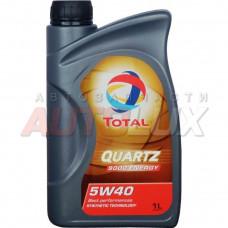 Total Quartz 9000 ENERGY 5w40 синт.мот.масло 1 л.