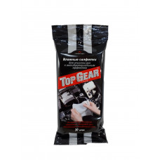 TOP GEAR Салфетки влажные для рук антибактериальные N30