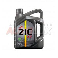 172607 ZIC Масло мот. X7 DIESEL 5000 10W40 синт. (6 л)