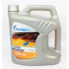 2389901318 GAZPROMNEFT Масло мот. Super SG/CD 10W40 п/с (4 л)