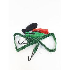 Резинка багажная плоская (2 крюка) (130 см)