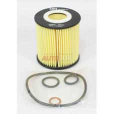 25.028.00 Фильтр масляный (картридж) BMW E46/E81/E87/E82/E88/E90/E91/E92/E93/E83/ E60/E61 1.6,1.8,2.0 01-