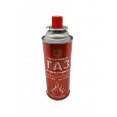 СИБИАР Баллон газовый для туристических плиток и горелок (220 гр)