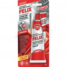 FELIX Герметик-прокладка профессиональный (красный) (85 гр)