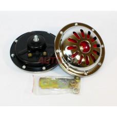 43307 Сигнал звуковой HR 1046 12V, 4A, 335/435Гц, 115Дб (диаметр - 125 мм) (комплект 2 шт) AVS
