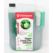 Антифриз TOTACHI SUPER LLC GREEN -40 C 4л зеленый