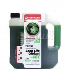 Антифриз TOTACHI NIRO LLC GREEN -40C Гибридн. (2л) Готовый к применению