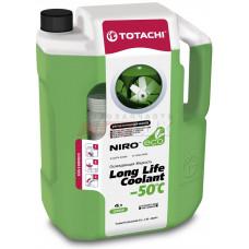 Антифриз зеленый TOTACHI NIRO LLC (до -50 C) ( 4 л)
