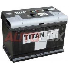 4607008882230 TITAN Аккумуляторная батарея Standart 75Ah, 700A о/п (-/+)