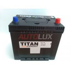 Аккумулятор TITAN Asia Standart 62 о/п (Азия 550 А)