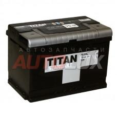 4607008887655 TITAN Аккумуляторная батарея Standart 70Ah, 680A о/п (-/+)