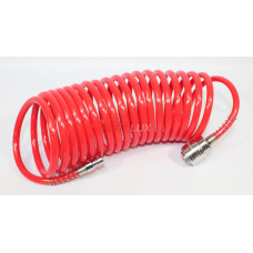 57002 Шланг спиральный воздушный 5м d=6х8мм полиэтилен
